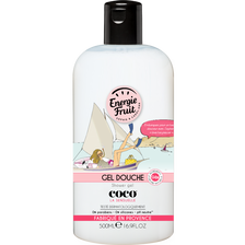 Gel douche et bain moussant coco ENERGIE FRUIT, flacon de 500ml