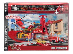 Station de pompier MAJORETTE Creatix