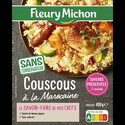 Couscous à la Marocaine et petit légumes FLEURY MICHON, 450g