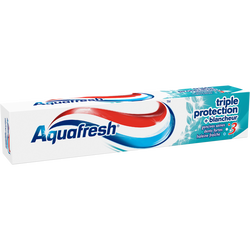 Dentifrice Triple Protection Blancheur AQUAFRESH, tube de 75ml