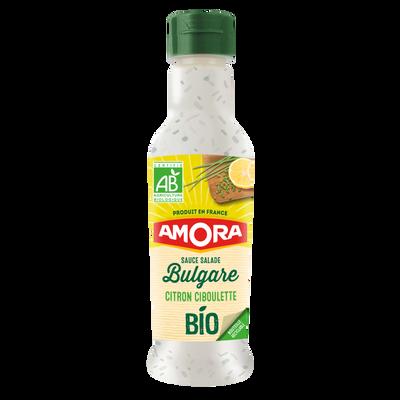 Sauce crudité à la bulgare citron ciboulette bio AMORA, 210ml