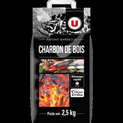 Charbon de bois U, 2,5 kg