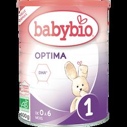 Optima 1 BABYBIO boîte de 400g