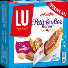 LU Barres Riz Soufflé Petit Ecolier, Paquet De 150g