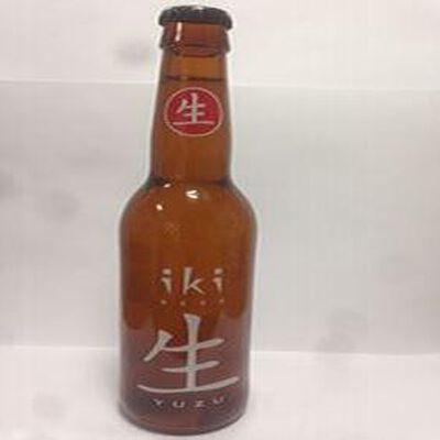 Bière biologique de fermentation haute IKI YUZU, 33cl
