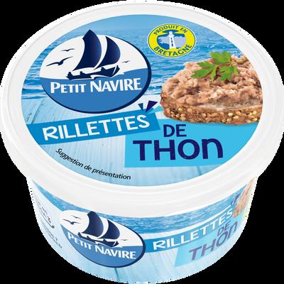 Rillettes de thon PETIT NAVIRE, boîte 1/6, 125g