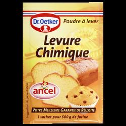Levure chimique d'Alsace OETKER, 6 sachets, 66g