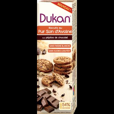 Biscuit pur son d'avoine aux pépites de chocolat DUKAN, 95g