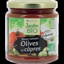 sauce tomate olives capres dynamie * 300 g  bocal verre