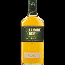 Whisky irlandais Dew finest old TULLAMORE, 40°, bouteille de 70cl