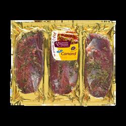 Magret canard mariné herbes, CANARD PASSION, France, 3 pièces