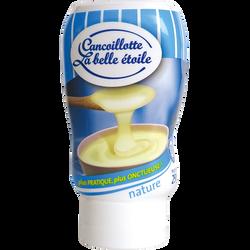 Cancoillotte nature Squeezer au lait pasteurisé LA BELLE ETOILE, 8% deMG, 250g