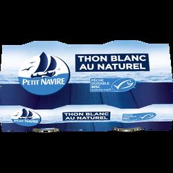 Thon blanc naturel msc PETIT NAVIRE, 2x56g, 112g