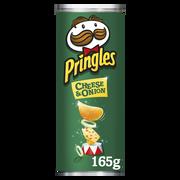 Pringles Snack Salé Au Goût Cheese & Onion Pr-pringles, 165g