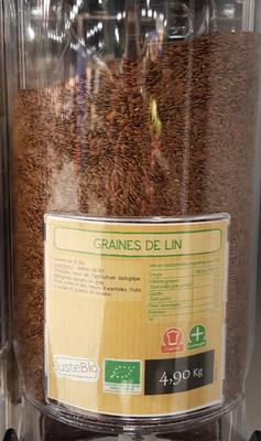 GRAINES DE LIN BIO, UN AIR D'ICI, INDE, 150GR