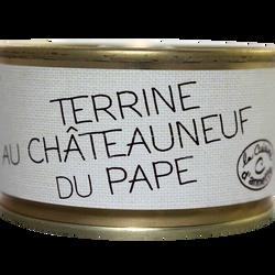 Terrine au Chateauneuf du Pape LA CUISINE D'ANNETTE, 130g
