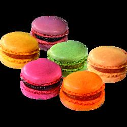 Macaron fruité, 6 pièces, 85g