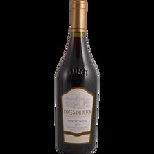 Vin rouge Côtes du Jura AOP Pinot Noir ,CAVEAU DES JACOBINS, bouteillede 75cl