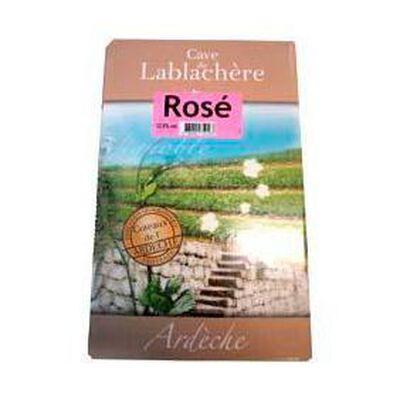 Vin rosé IGP coteaux de l'Ardèche Cave de Lablachère 5L