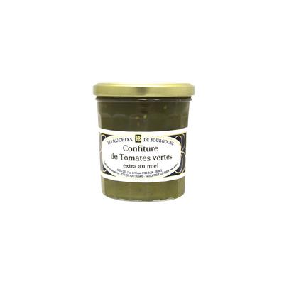 Confiture tomates vertes au miel RUCHERS DE BOURGOGNE, 375g