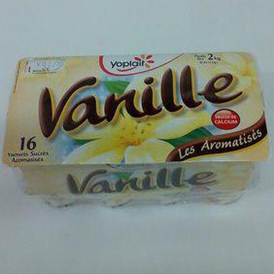 YAOURT A LA VANILLE  Yoplait X 16