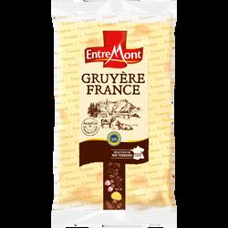 Gruyère pâte pressée cuite  lait cru de  vache 32% ENTREMONT 200g EXP