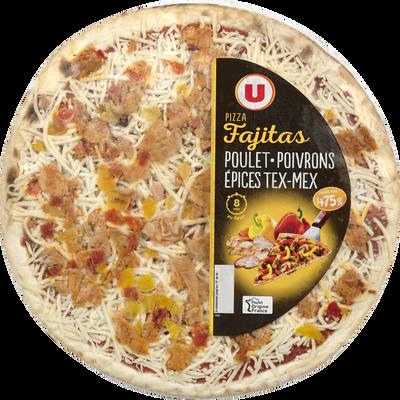 Pizza fajitas au poulet U, 475g