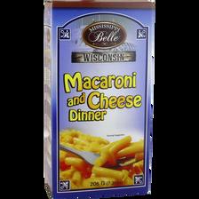 Macaroni au fromage  MISSISSIPI BELLE, 206g