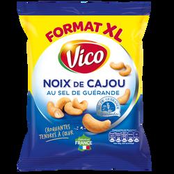 Noix de cajou grillées à sec au sel de guerande VICO, 230g
