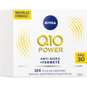 Nivea Soin De Jour Anti-rides Q10+ Fps30 Nivea Visage, Pot De 50ml