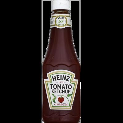 """Tomato ketchup HEINZ, """"Top Up"""" flacon souple de 570g"""