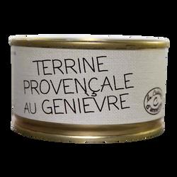 Terrine provençale au genièvre LA CUISINE D'ANNETTE, 130g