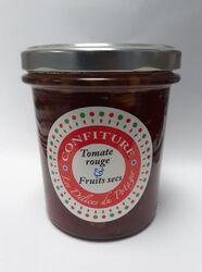 confiture de tomates rouges/ fruits secs 350G,LES DELICES DU POTAGER 78810 FEUCHEROLLES
