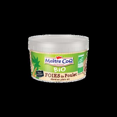 Foie de poulet fermier, BIO, MAITRE COQ, 1 pièce