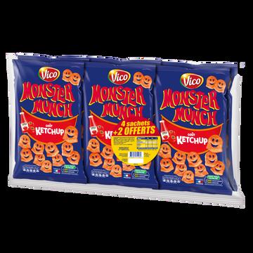 Monster Munch Monster Munch Ketchup, X85g + 2 Offerts