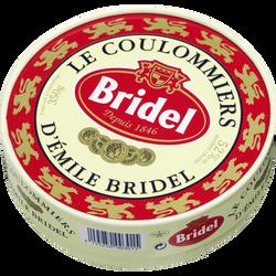 Coulommiers pasteurisé BRIDEL, 20%mg, 350g
