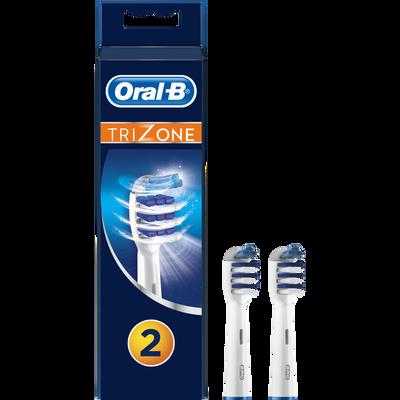Brossettes interdentaire de rechange pour brosse à dents électrique Trizone ORAL B, x2