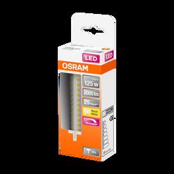Ampoule led OSRAM tubulaire 125W culot R7s 118mm blanc chaud