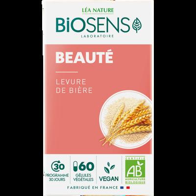 Gélules végétales levure de biére bio BIOSENS X60