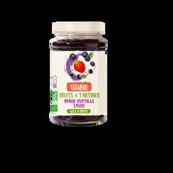 Délice de fraise myrtille cassis VITABIO, 290g