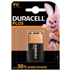 Pile duracell +power 6lr61