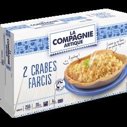 Crabes farcis COMPAGNIE ARTIQUE, 2x125g