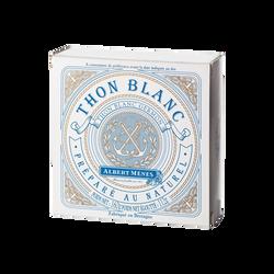 Thon blanc germon préparé au naturel ALBERT MENES, 112g