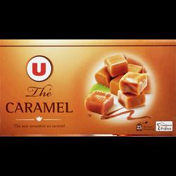 Thé noir aromatisé caramel U, 25 sachets, 50g