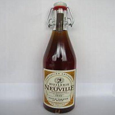 Huile vierge de noix du poitou, bouteille, 50cl, Huilerie de Neuville