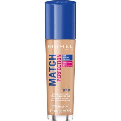 Fond de teint match perfection203 RIMMEL, 30ml