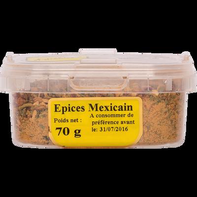 Epices mexicains, pot 70g