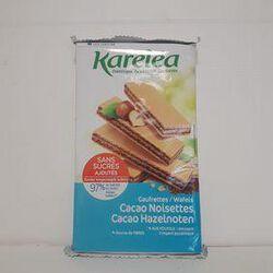 Gaufrettes cacao noisettes KARÉLÉA sachet 200g