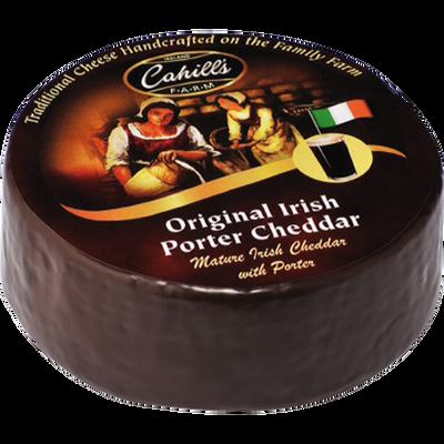 Cahills porter cheddar au lait pasteurisé, 32%Mat.Gr.