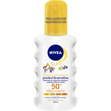 Créme enfants spf 50+ Protect & Sensitive NIVEA, flacon de 200ml